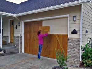 The Woodlands garage door